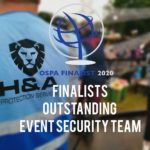 finalists outstanding, event security team